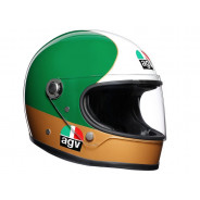 AGV X3000 Ago 1 Limited Edition Full Face Helmet (red / green / white / gold)