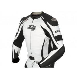 DIFI Giacca Moto Imola EX3 Uomo (nero/bianco)