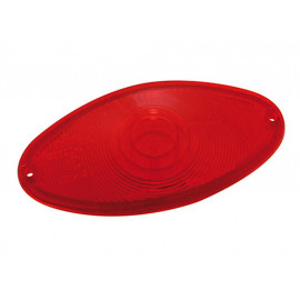 P&W Glass for Cat-Eye Metal Rear Light 255-915 (red)