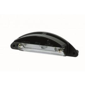P&W License Plate Light (black)