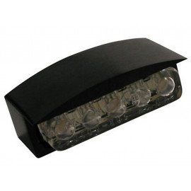 P&W Mini-LED-License Plate Light Alu (black)