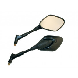 P&W Mirror Universal Alpha (Pair) (black)