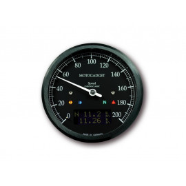 Motogadget Chronoclassic Speedo,, black