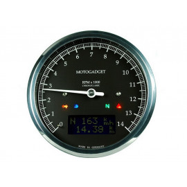 Motogadget Chronoclassic Tachometer (black) black LCD display