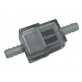 P&W Fuel Filter (Plastic) flat Connection width 6/7mm (white)