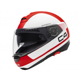 Schuberth C4 Legacy Red Casco modulare (bianco/rosso)