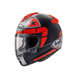 Arai Chaser-X Maverick GP Full Face Helmet (blackmatt / red / grey)