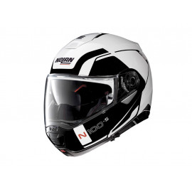 Nolan N100-5 Consistency N-COM Flip-Up Helmet (white / black)