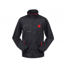 Suzuki Team Black Giacca Softshell Unisex (nero)