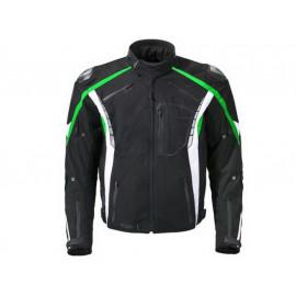 Germot Giacca Moto Eagle Uomo (nero/verde)