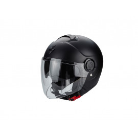 Scorpion Exo City Casco jet (nero opaco)