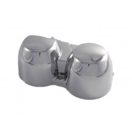 P&W Lower Housing for original Speedometer Honda CB600 Hornet (1998-2002) / CB 750 / Seven-Fifty (chrome)