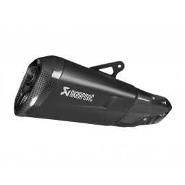 Akrapovic Slip-On Silenziatore BMW S1000XR (2015-2017) Black Series / Titanio (Euro4)