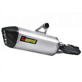 Akrapovic Slip-On Silenziatore BMW R1200GS / R1200GS Adventure (2013) Titanio