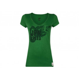 Kawasaki JPN Speed T-Shirt Donna (verde)